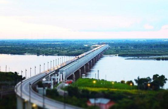 Мост через Амур баннер