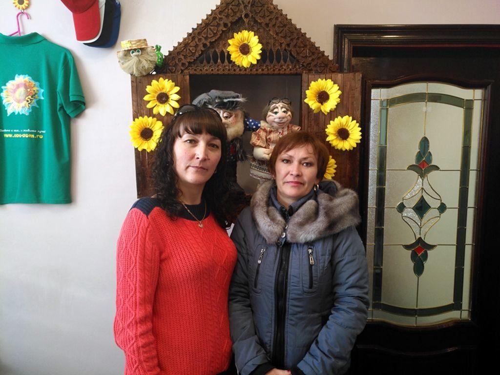 Эгерт Ольга Петровна и агент Шпакова Елена Юрьевна