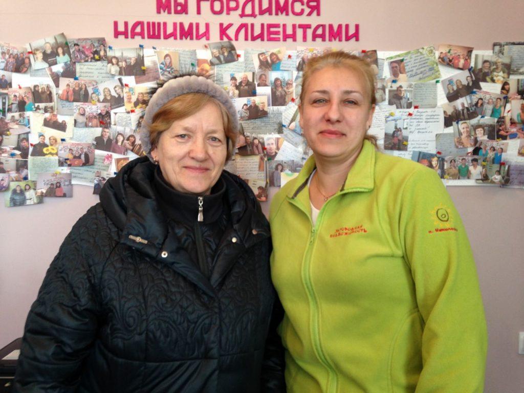 Тютюнникова Татьяна Ивановна и риэлтор Ирина Александровна Попкова