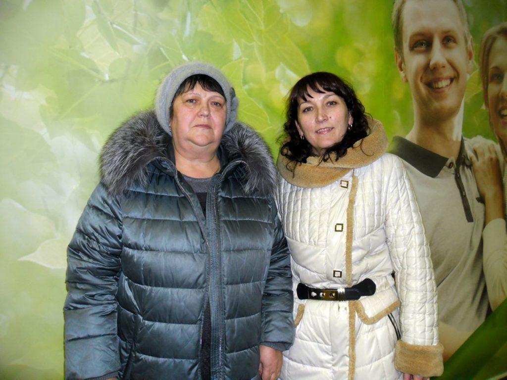 Радич Галина Федоровна и риэлтор Шпакова Елена Юрьевна